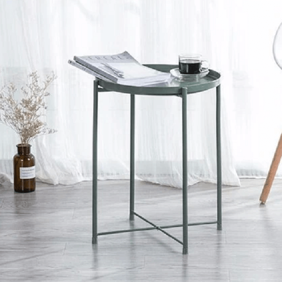Wyatt - Modern Metal End Table