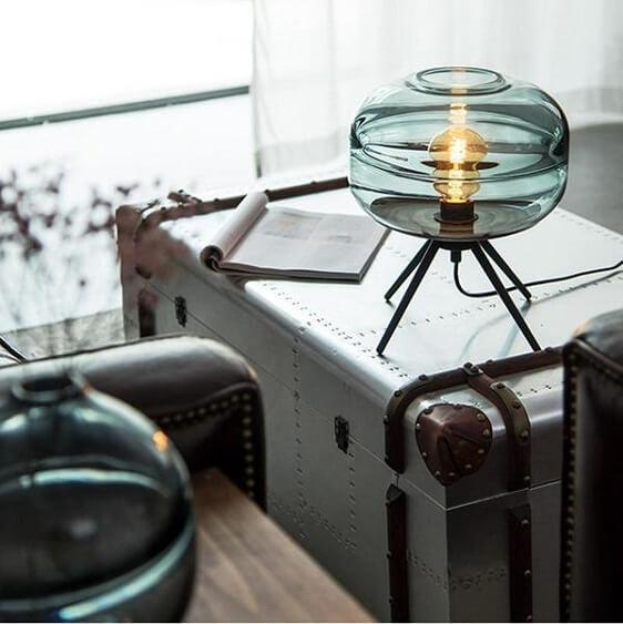 Adler - Glass Dome Table Lamp - at´creative