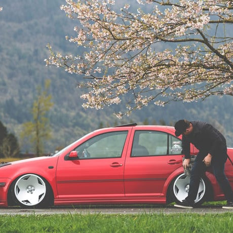 A Bagged Labor Of Love | Mitchell TenHoeve's MK4 Jetta
