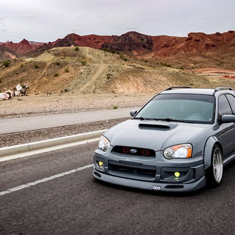 A Work Of Art In The Desert | Gendell Espero's '04 WRX Wagon