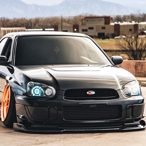 Vehicle Spotlight: Bagged WRX