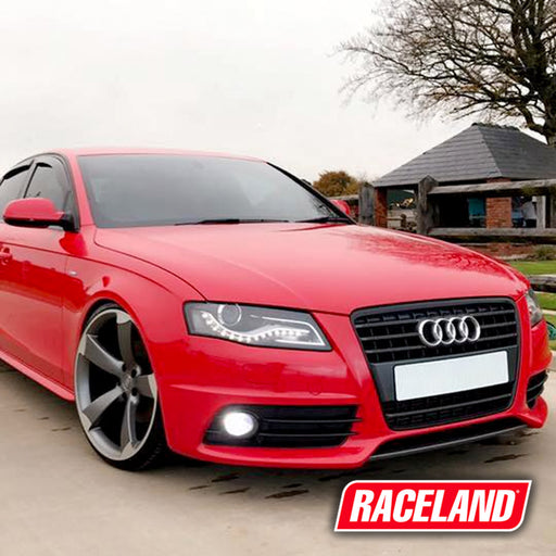 Audi A4 B8 Coilovers on Car