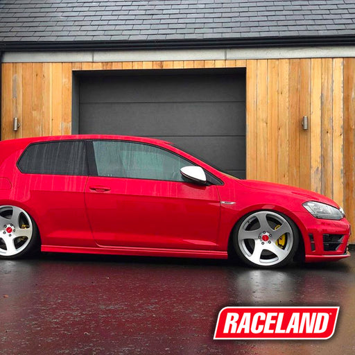 Volkswagen Golf R MK7 Coilovers on Car