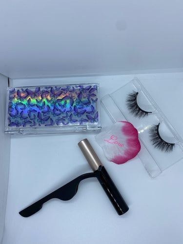 Mini Butterfly Babe Magnetic Lashes Set