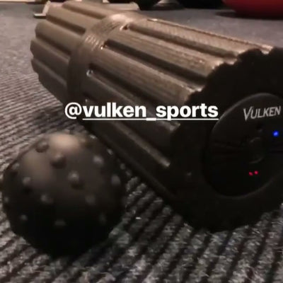VULKEN's VulkRoll & Acusphere --- A perfect combination of self-myofascial release