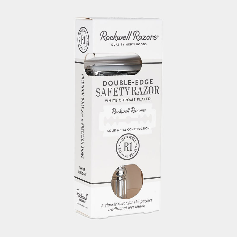 Rockwell R1 - Double Edge Safety Razor - , Rockwell Razors