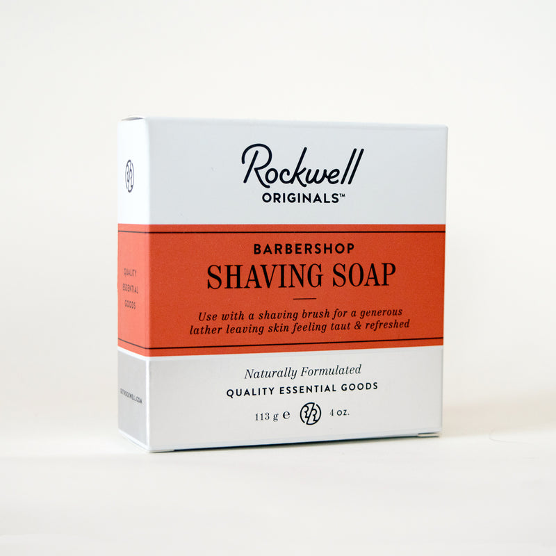 Rockwell Shave Soap - Barbershop Scent