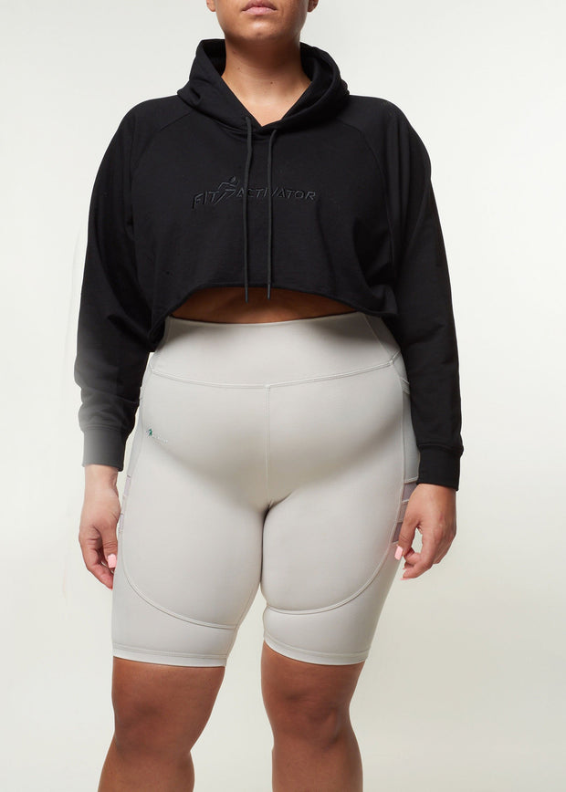 Shingi Cropped Hoodie - FitActivator