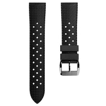 Lataa kuva Galleria-katseluun, ZULUDIVER Tropical Rubber Watch Strap