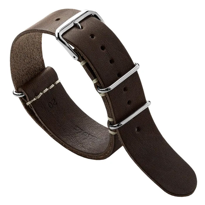 Duntz Premium Leather NATO Watch Strap
