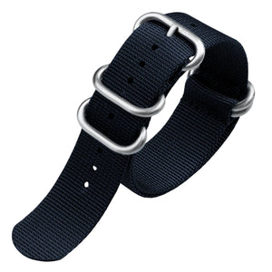 ZULUDIVER Heavy Duty ZULU Blue Watch Strap