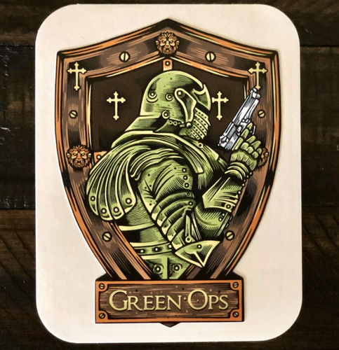 Sticker Green Ops Pistol