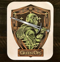 Load image into Gallery viewer, Sticker Green Ops Sword