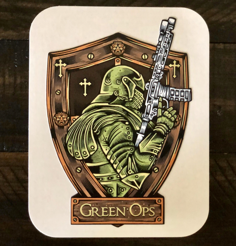 Sticker Green Ops Rifle
