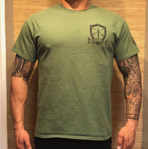 T-shirt Green Ops, Green Knight