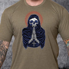 Load image into Gallery viewer, T-shirt Death Preys Red White & Blue
