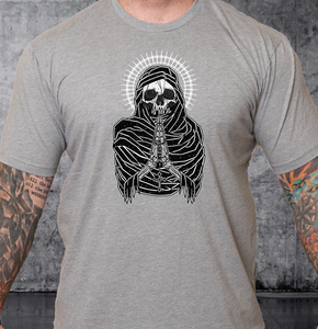 T-shirt Death Preys White Crown