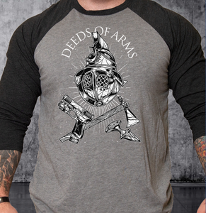 T-shirt Deeds of Arms Baseball
