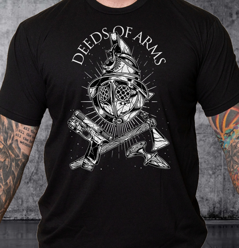 T-shirt Deeds of Arms V3