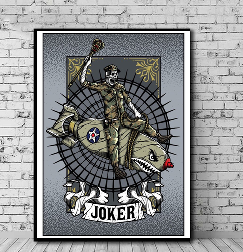 Art Playing Card: Joker