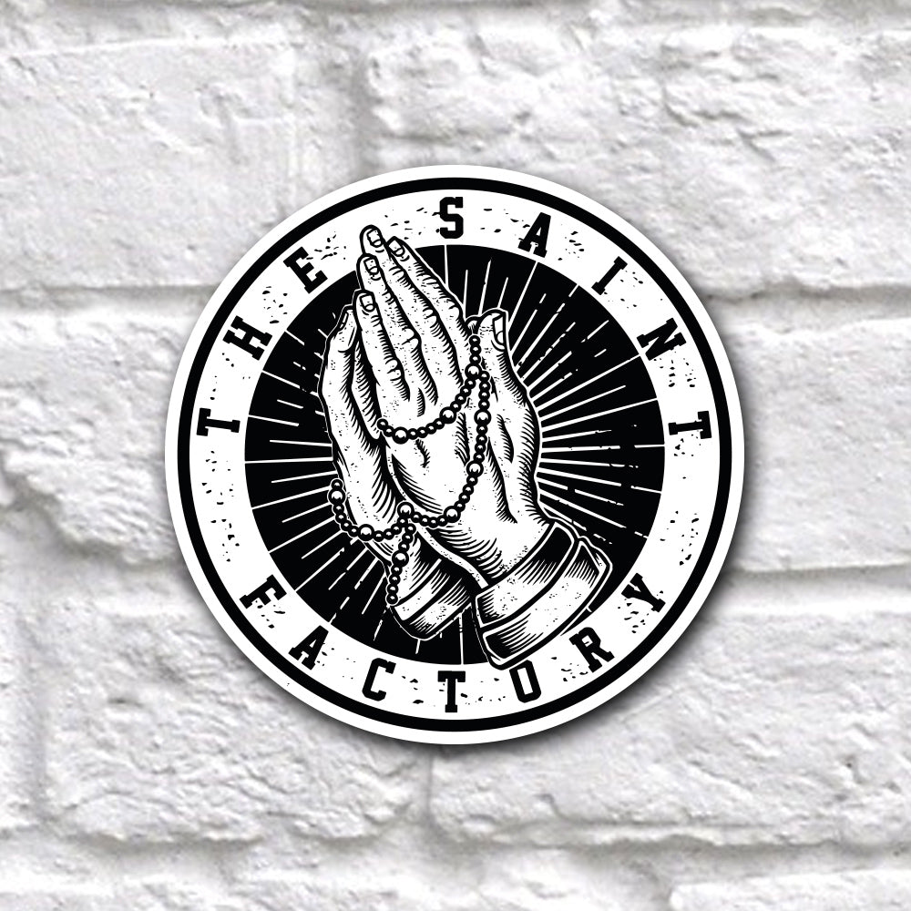 The Saint Factory Logo Sticker