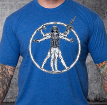 Load image into Gallery viewer, T-shirt Virtuvian Man