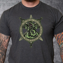 Load image into Gallery viewer, T-Shirt We Fight Monsters Green Hydra