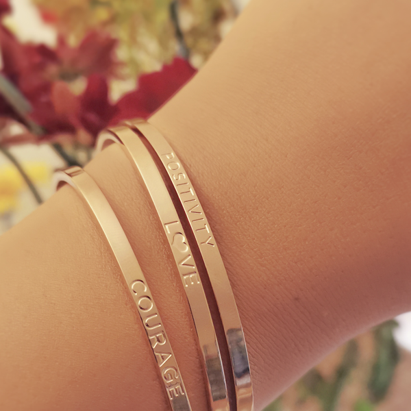 Positivity, L❤VE, Courage - Stack