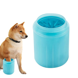 FlashPaw® Dog Paw Cleaner Cup for Combing Dirty Paws - Paw Huggies