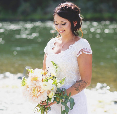 Grants Pass Oregon Bridal Makeup by Brittney Tappan