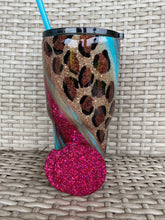 Load image into Gallery viewer, Gypsy Swirl Cheetah Print tumbler
