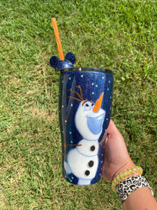 Hand painted OLAF