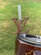 Load image into Gallery viewer, Louis Vuitton straw topper