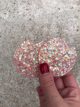 Load image into Gallery viewer, Car coasters Peach Glitter