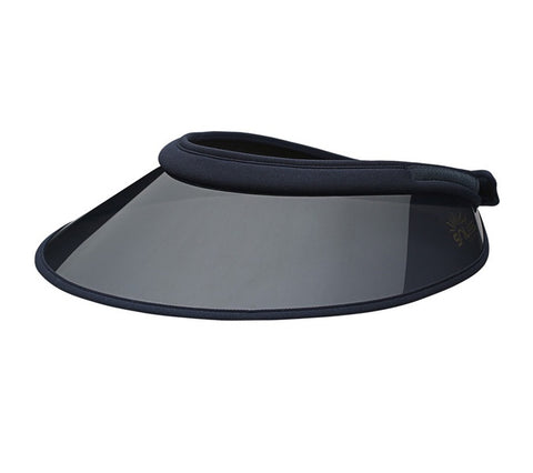 Soless H-Visor Black/ Black - Vision Saddlery