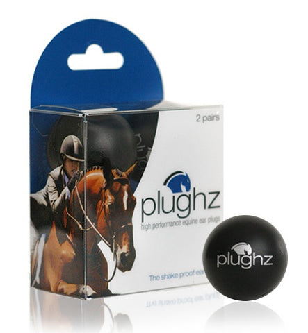 Plughz High Performance Equine Ear Plugs, 2 Pairs - Vision Saddlery