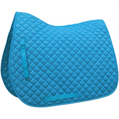 English Contour Saddle Pad - Various colours - Vision Saddlery