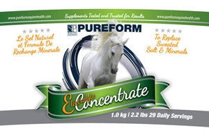 Pureform Electrolyte Concentrate - Vision Saddlery