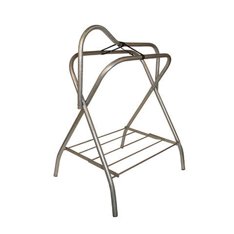 Collapsible Aluminum Standing Saddle Rack - Vision Saddlery