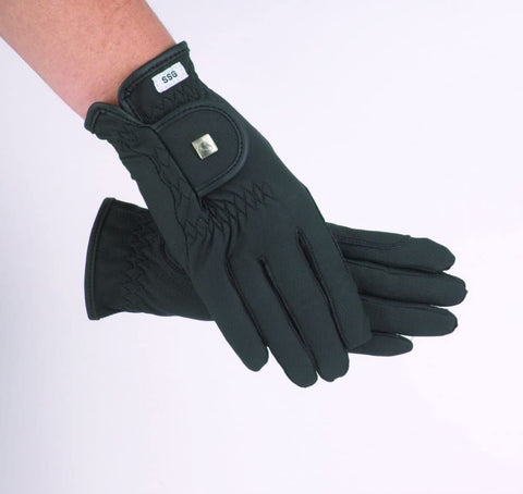 SSG Soft Touch Riding Gloves - Silk Lined - Vision Saddlery