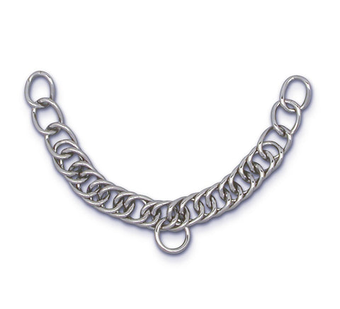 English Double Link Curb Chain - Vision Saddlery