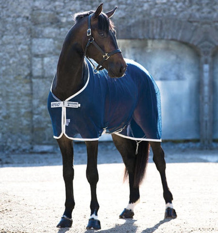 Amigo Net Cooler Navy - Vision Saddlery