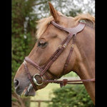 Dy'on Difference Flash Noseband Bridle - Vision Saddlery