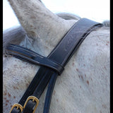 Dy'on Rope Noseband Bridle Brown Full Size - Vision Saddlery