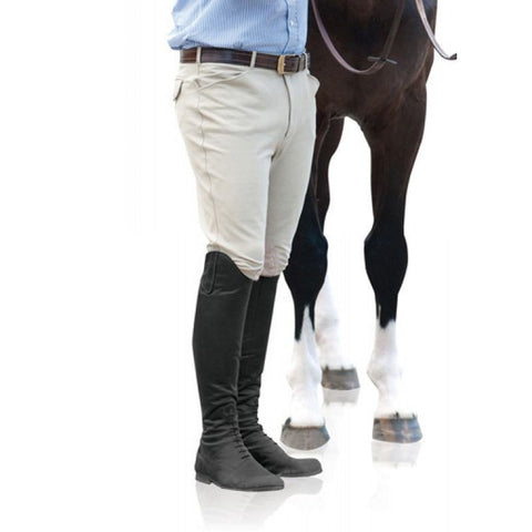 Ovation Men's 4 Pocket Knee Patch Breeches - Vision Saddlery
