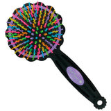 Tail Tamer Flower Power Brush - Vision Saddlery