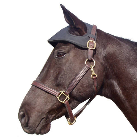 Synthetic Leather Poll Guard - Vision Saddlery