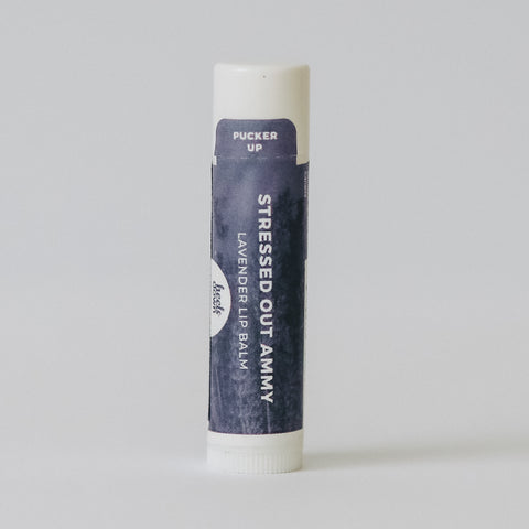 LIP BALM - STRESSED OUT AMMY (Lavender)