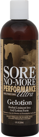 Sore No More Performance Ultra Gelotion - Vision Saddlery