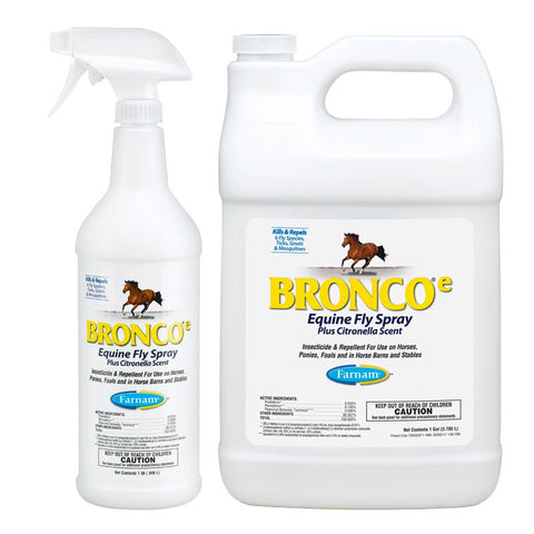 Bronco Water Based Fly Spray - Vision Saddlery